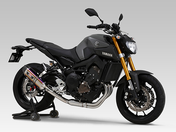 yoshimura auspuff yamaha mt 09 nicht f r tracer. Black Bedroom Furniture Sets. Home Design Ideas