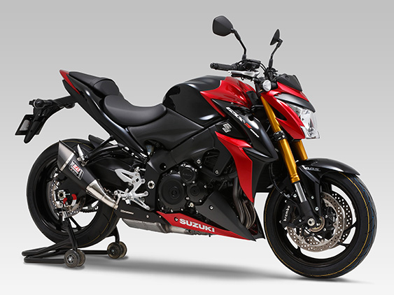 yoshimura auspuff suzuki gsx s 1000 f. Black Bedroom Furniture Sets. Home Design Ideas